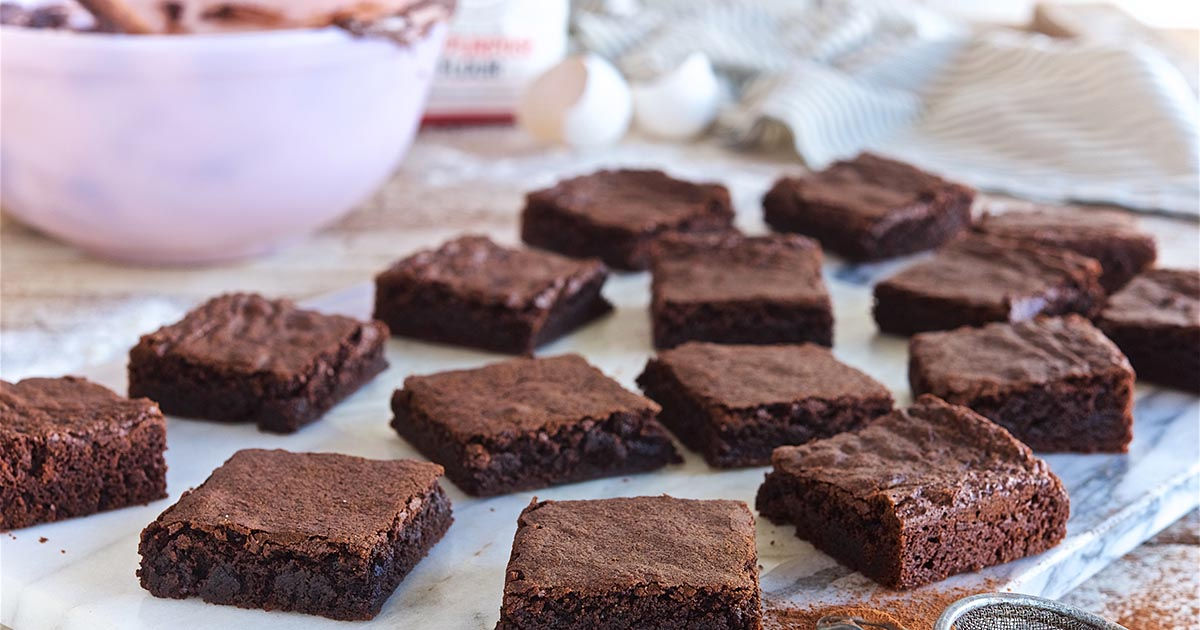 Quick and Easy Fudge Brownies Recipe
