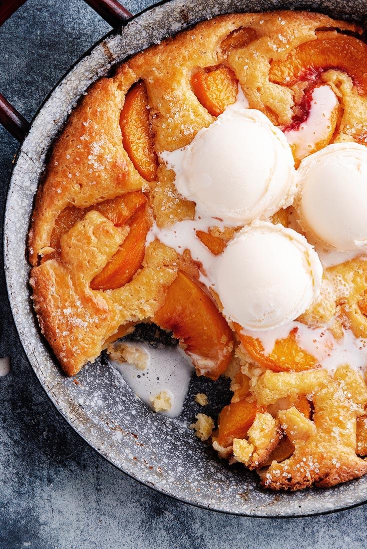 Southern-Style Peach Cobbler Recipe | King Arthur Flour
