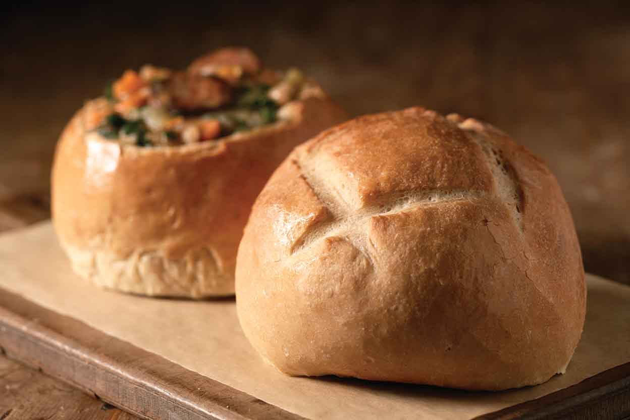 Artisan Bread Bowls Recipe