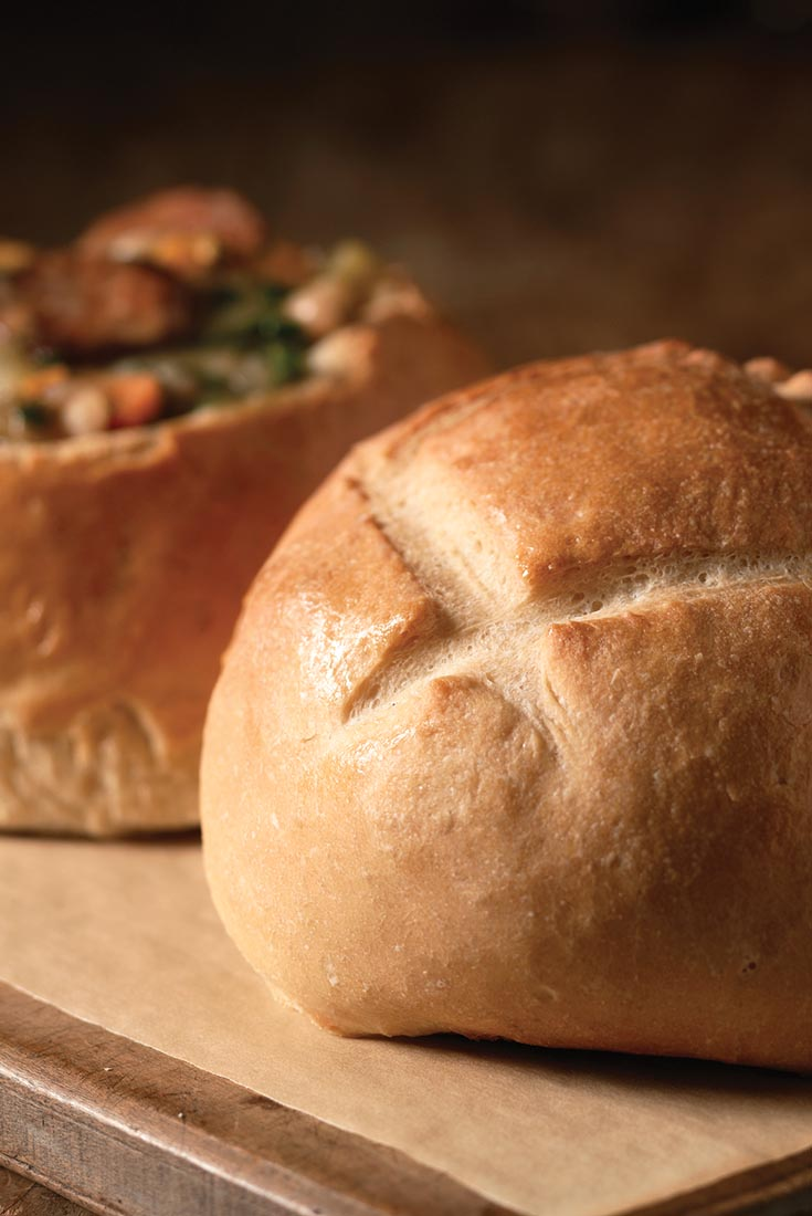 Artisan Bread Bowls Recipe