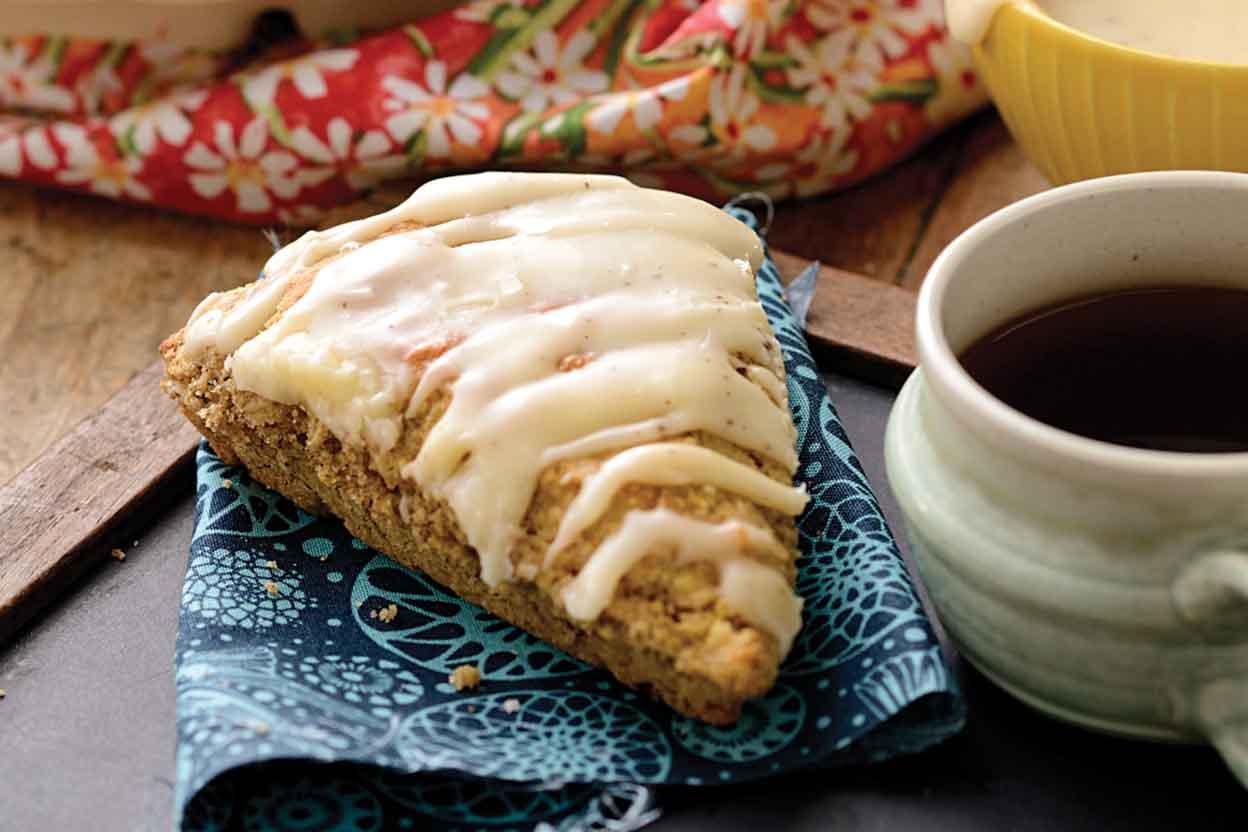 Brown Butter Rye Scones Recipe | King Arthur Flour