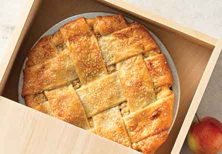 Blue Ribbon Caramel Apple Pie