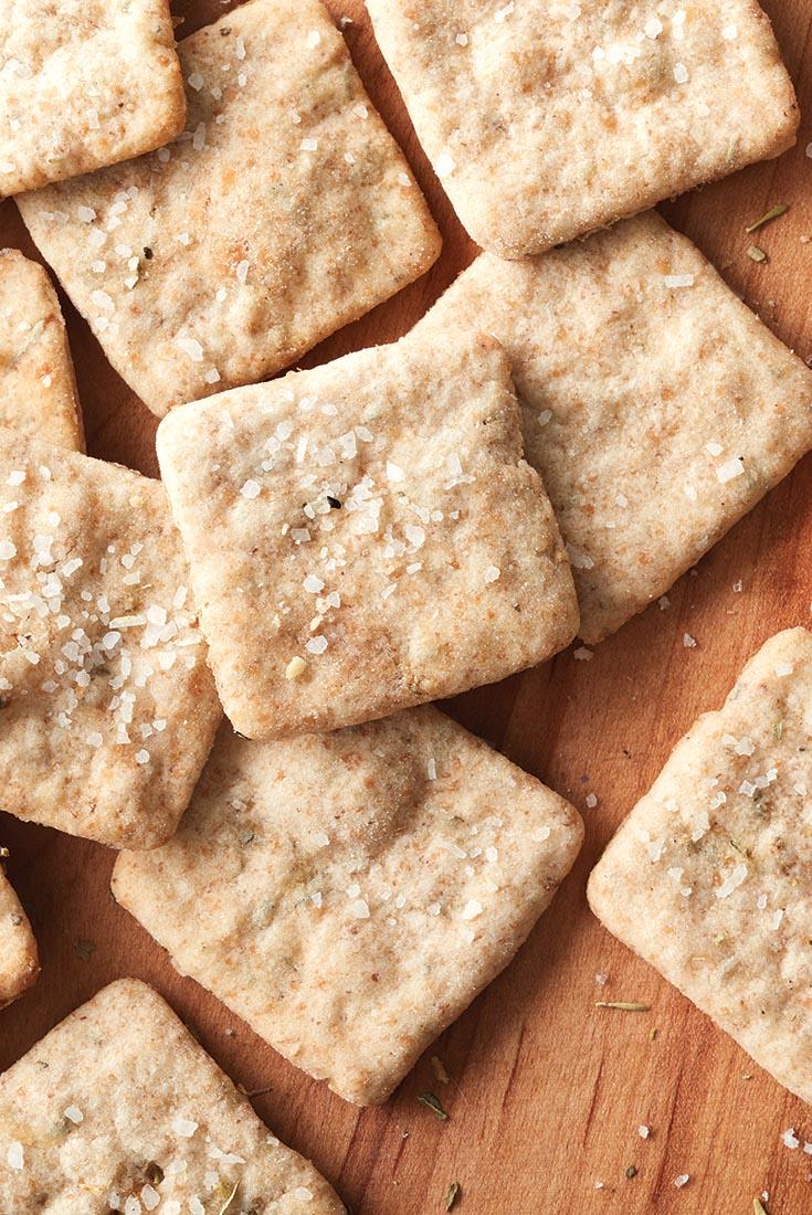 Sourdough Crackers Recipe