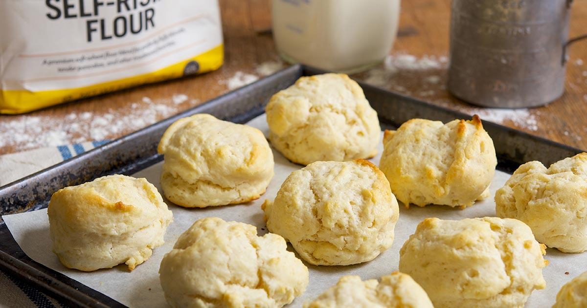 Never-Fail Biscuits Recipe
