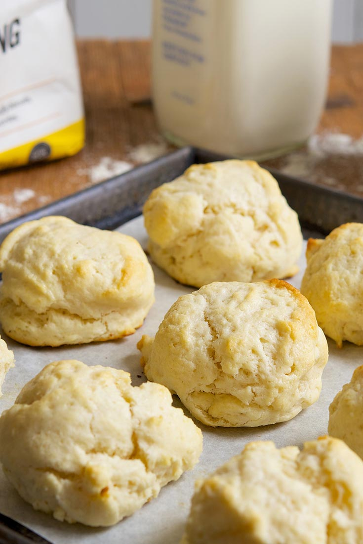 Never-Fail Biscuits Recipe