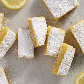 Gluten-Free Lemon Squares with an Almond Flour Crust