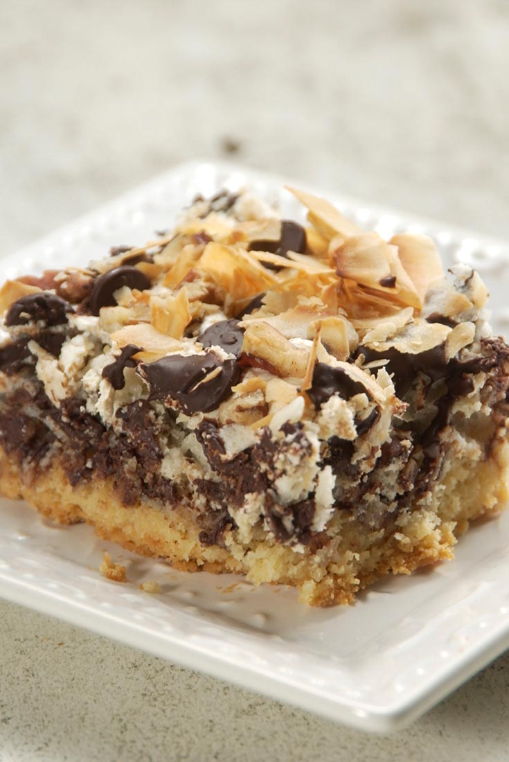 Chocolate-Coconut Macaroon Bars Recipe