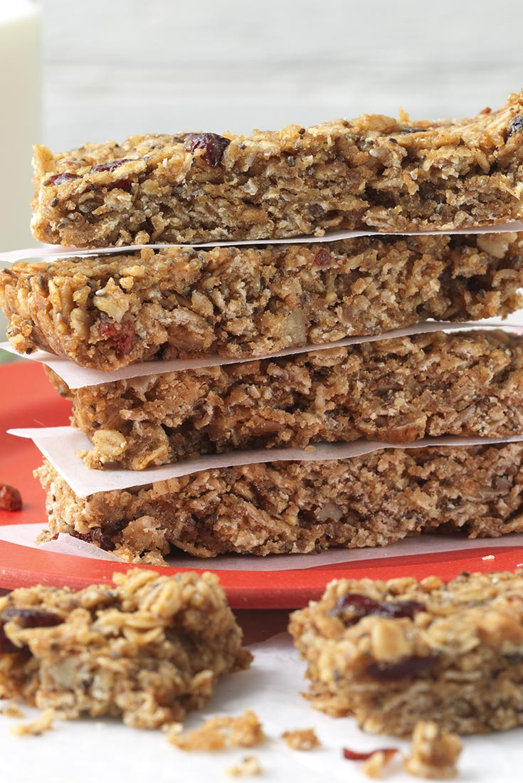 Chia Energy Bars Recipe