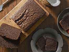 Chocolate Coconut Quick Bread