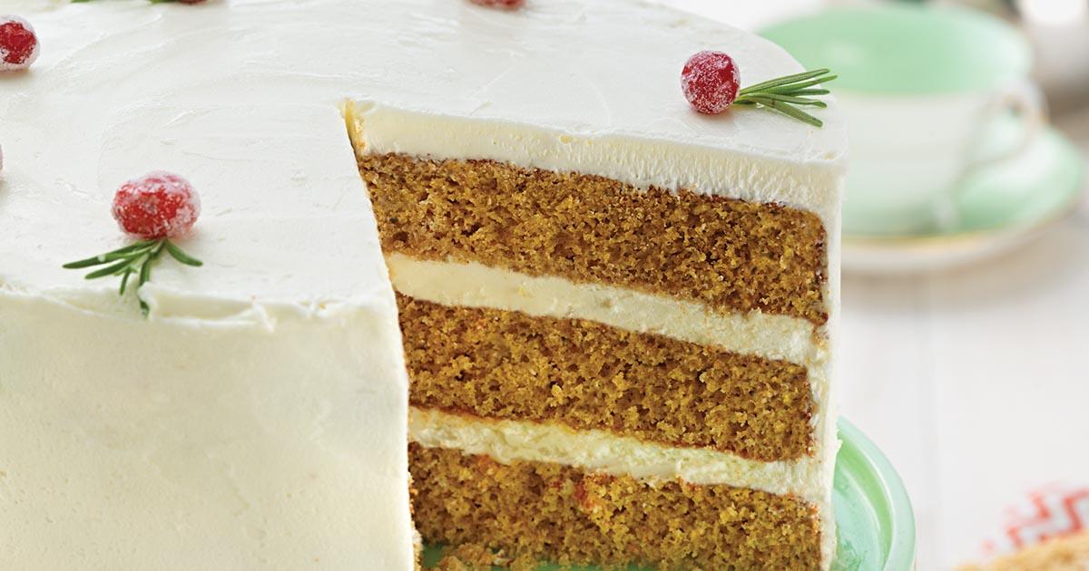 Cake Recipe King Arthur Flour: Golden Spice Cake Recipe