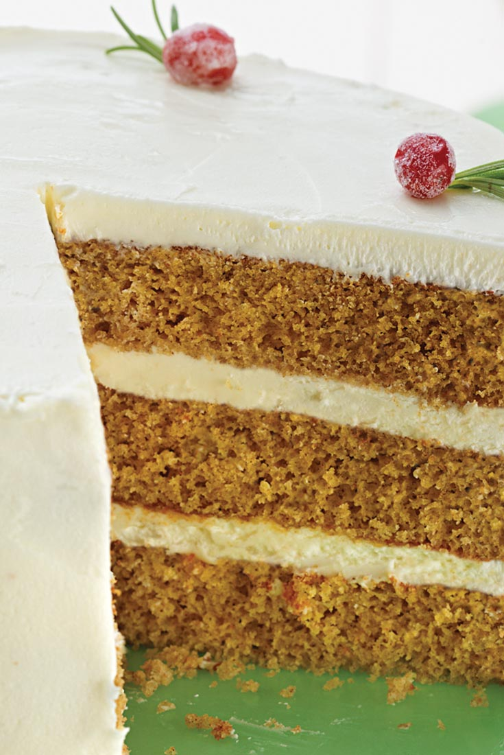Golden Spice Cake Recipe