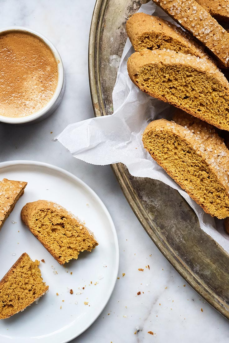 Pumpkin Biscotti Recipe | King Arthur Flour