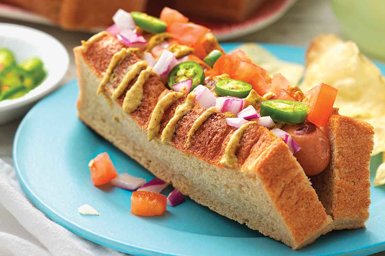 whole wheat hot dog buns recipe king arthur flour. Black Bedroom Furniture Sets. Home Design Ideas