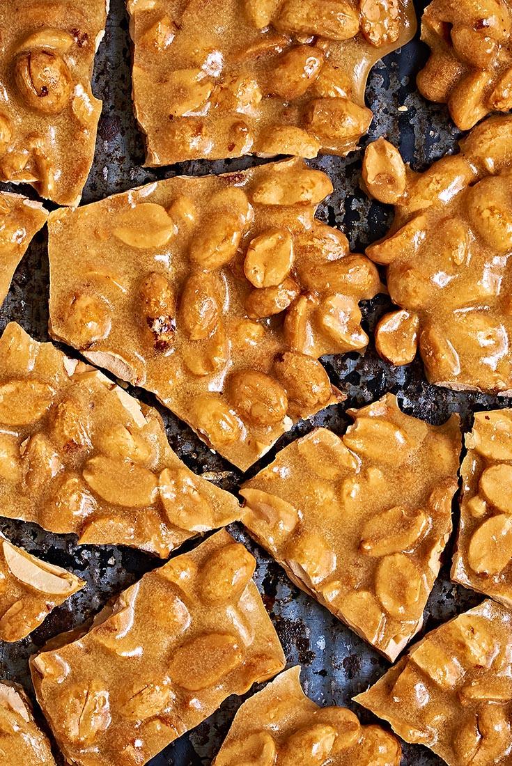 Microwave Nut Brittle Recipe