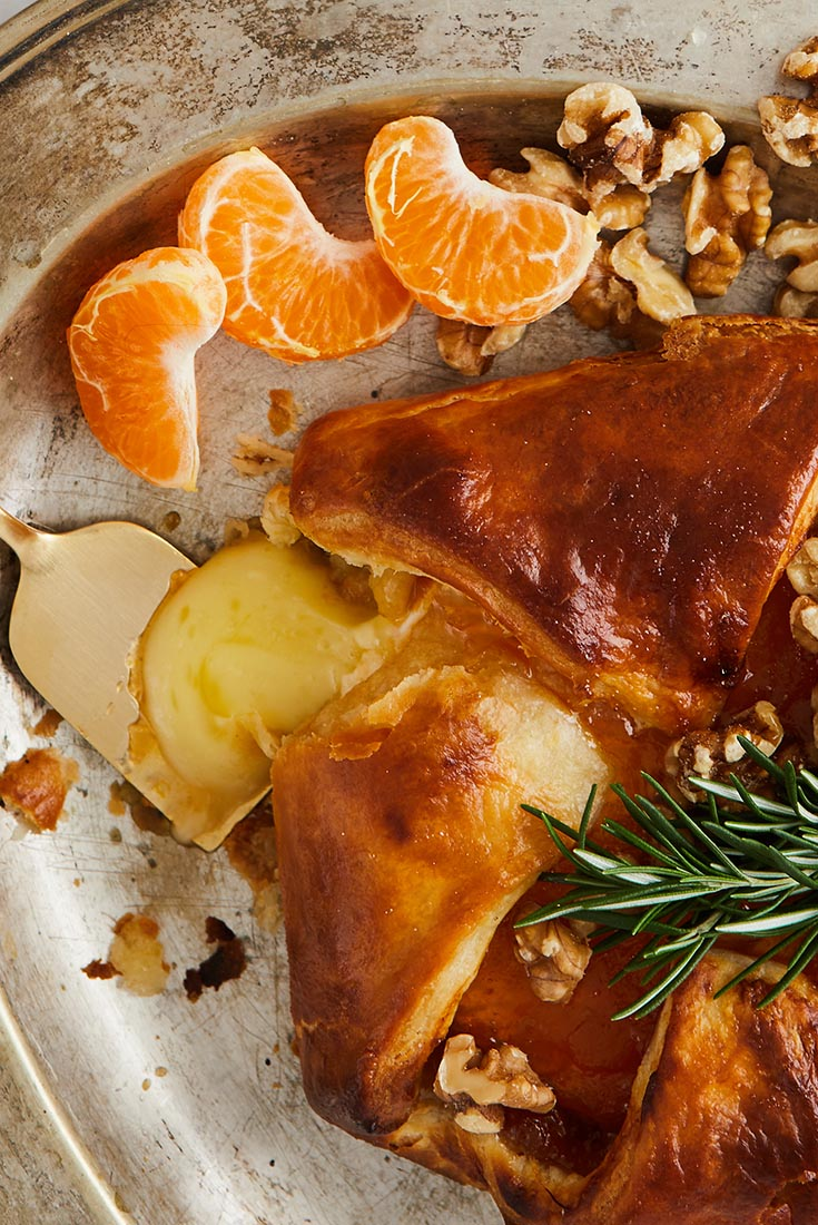 Baked Brie with Apricot Jam Recipe