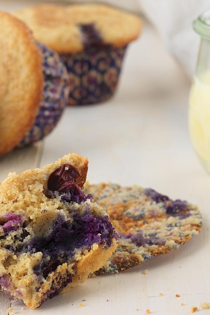 Gluten-Free Whole Grain Blueberry Muffins Recipe