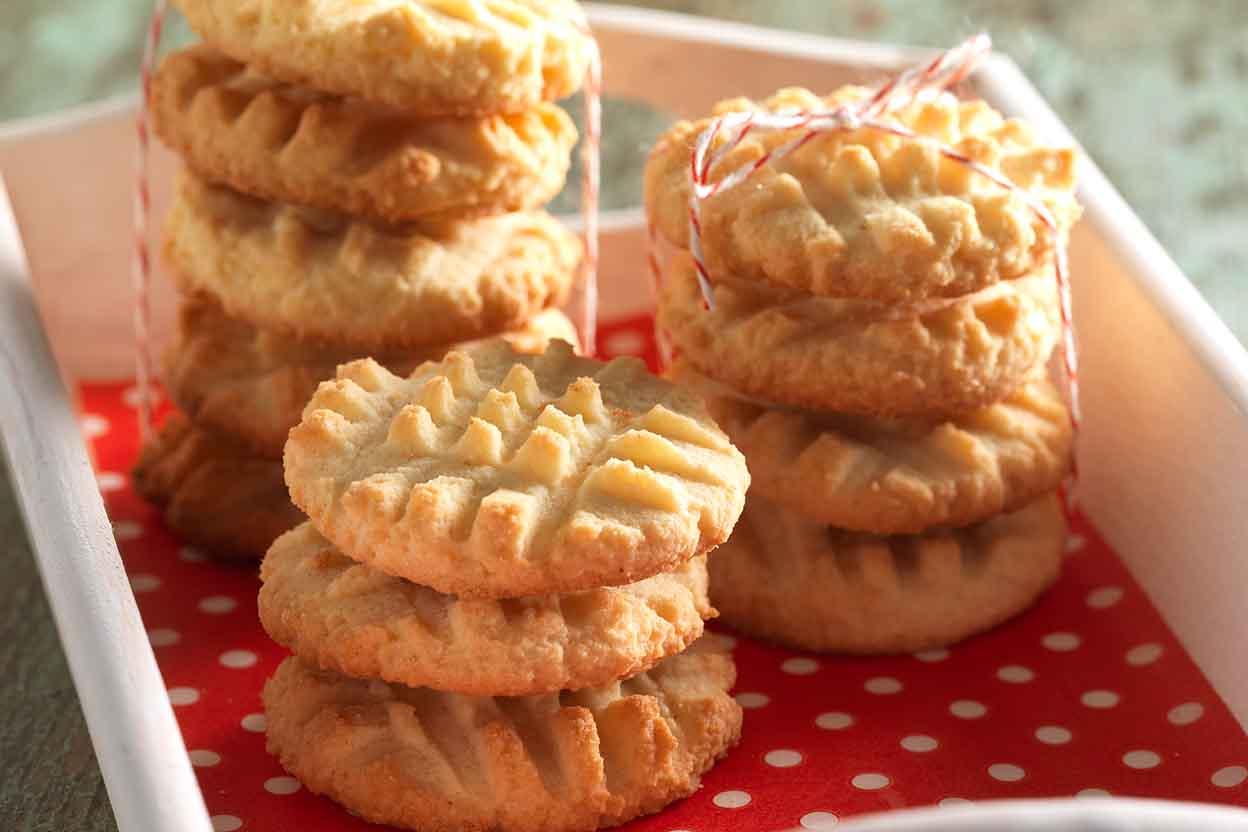 Gluten-Free Coconut Flour Shortbread Cookies Recipe | King Arthur ...
