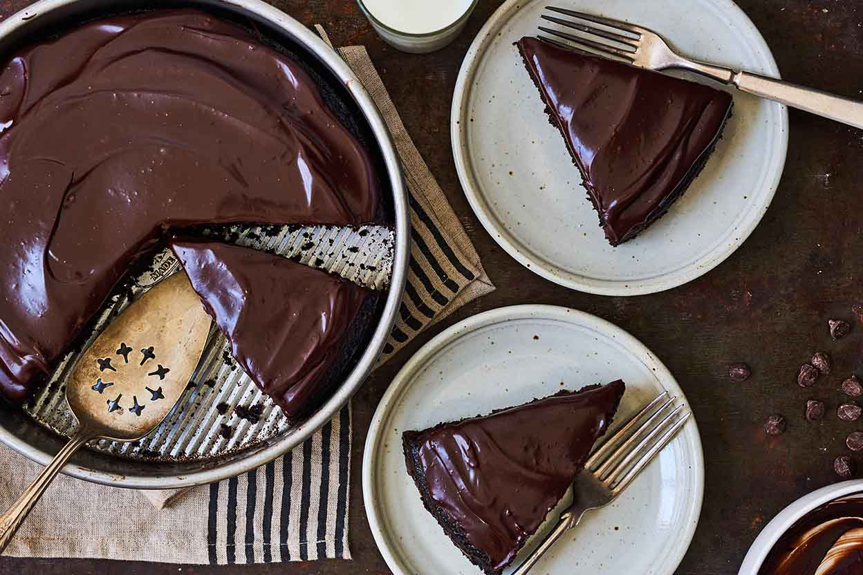 Chocolate Sheet Cake Pan Size