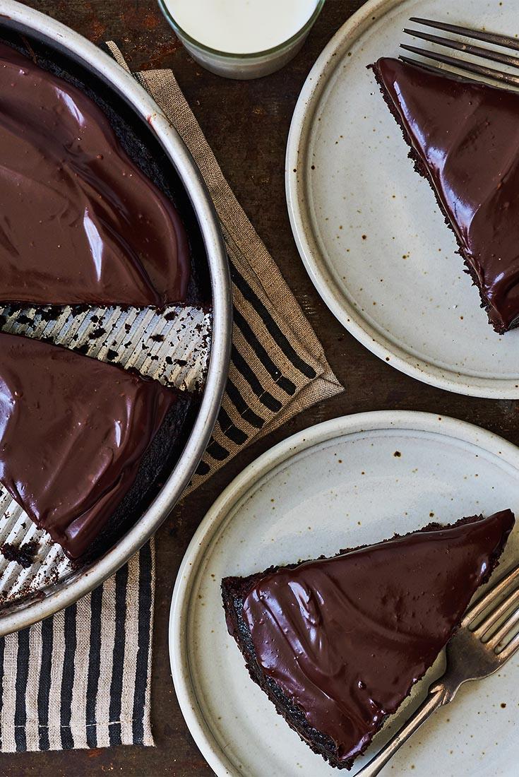 King Arthur Flour's Original Cake Pan Cake Recipe