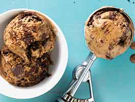 Dark and Dangerous Mocha Chunk Ice Cream