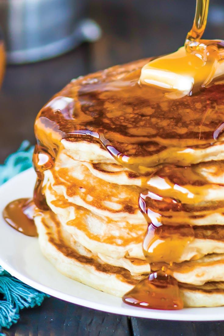 Lemon Zephyr Pancakes Recipe