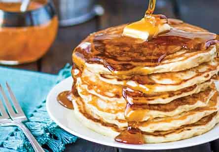 Lemon Zephyr Pancakes