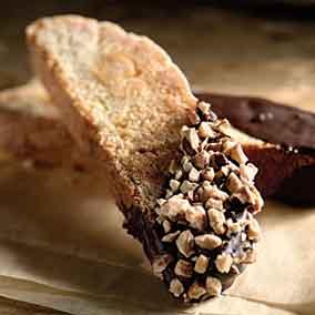 White Chocolate Hazelnut Biscotti