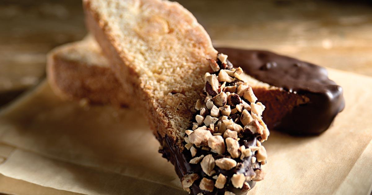 Chocolate Biscotti Recipe King Arthur Flour