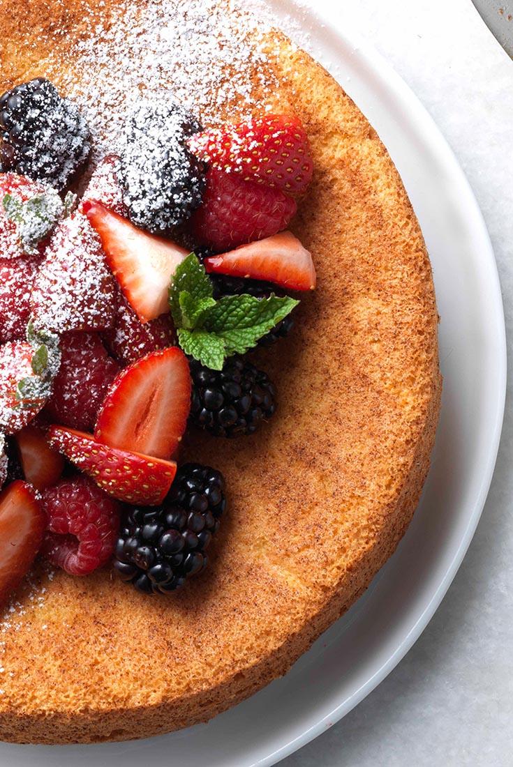 Strawberry Almond Flour Cake Recipe