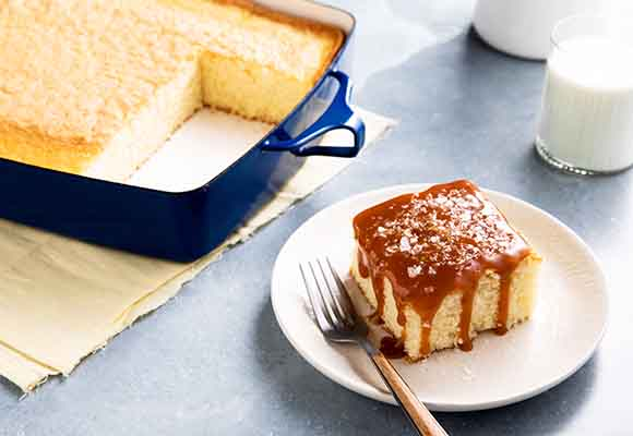 Chef Zeb's Hot Milk Cake