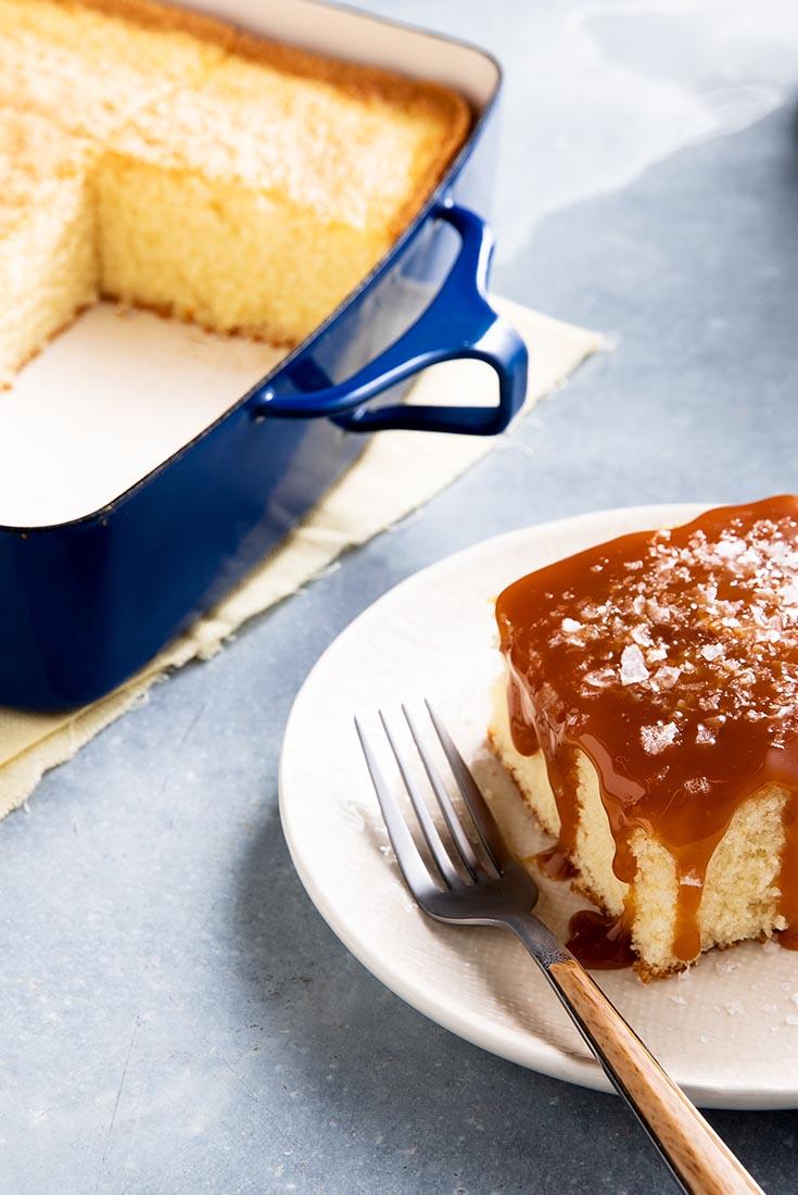 Chef Zeb's Hot Milk Cake Recipe