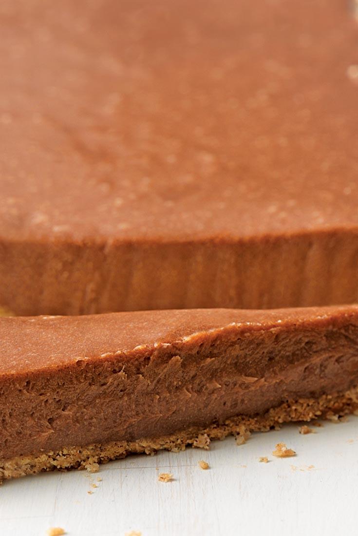 Malted Milk Chocolate Hazelnut Tart Recipe