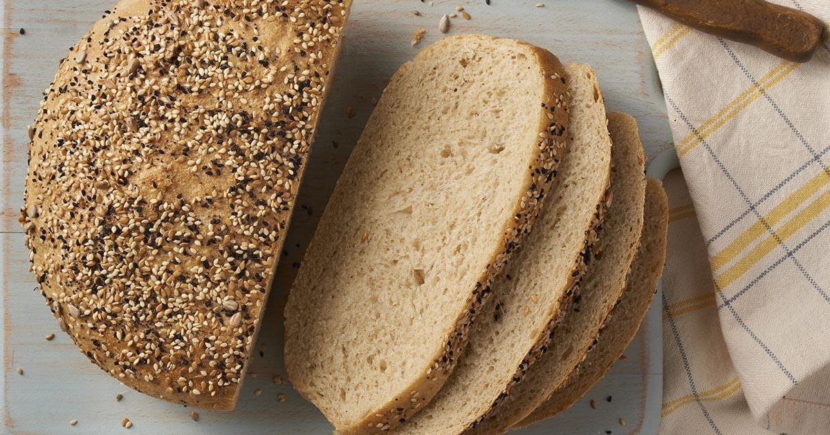 Chewy Semolina Rye Bread Recipe King Arthur Flour