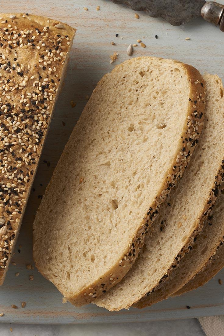 Chewy Semolina Rye Bread Recipe