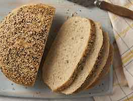 Chewy Semolina Rye Bread