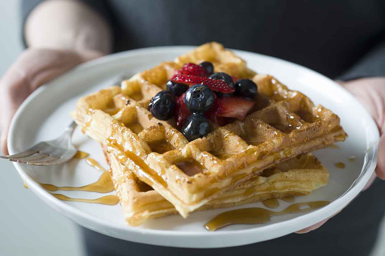 The Best Waffles Ever Recipe | King Arthur Flour