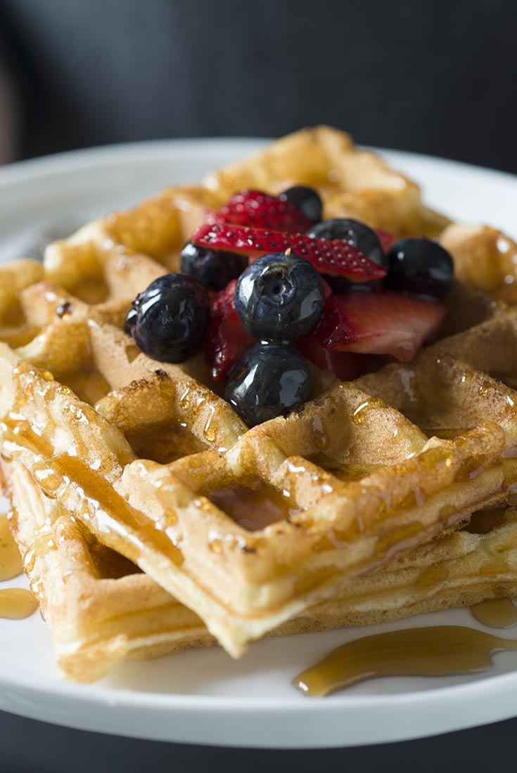 The Best Waffles Ever  Recipe
