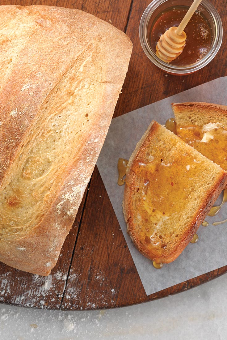 French-Style Country Bread Recipe