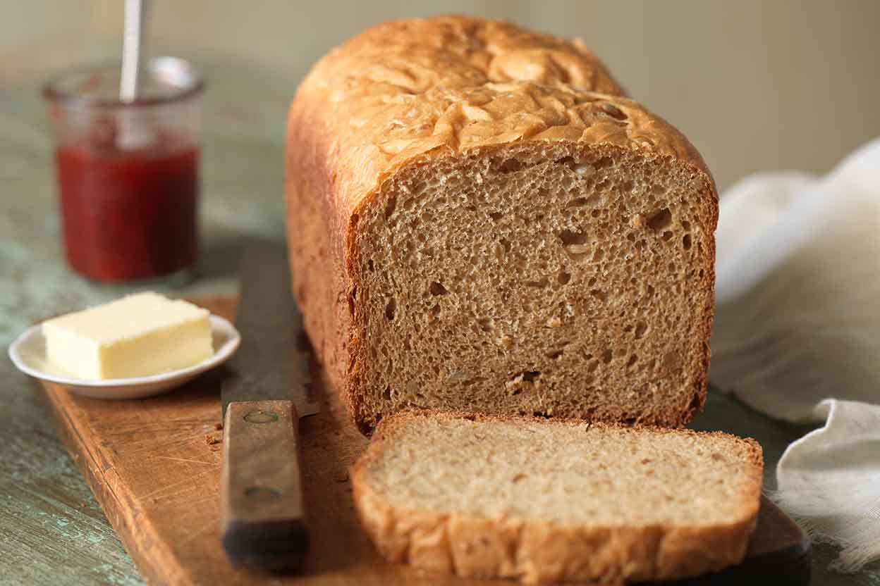 100 Whole Wheat Bread For The Bread Machine Recipe King