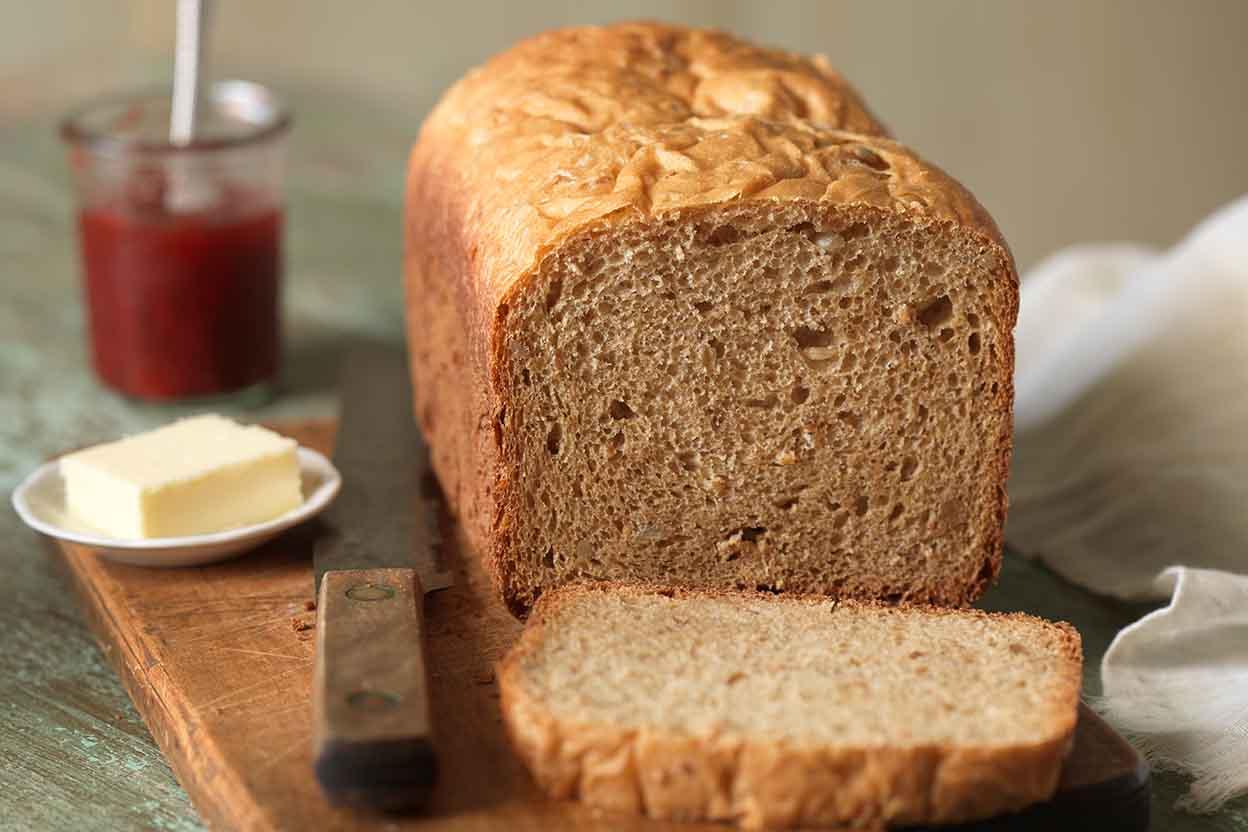 How to make sandwich bread in maker