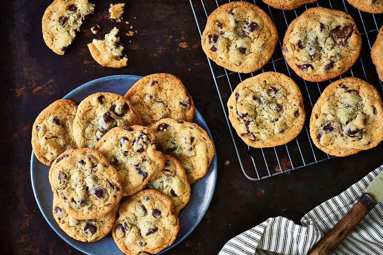 Chocolate chip cookies recipe king arthur flour forumfinder Choice Image