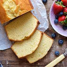Brown Sugar Sour Cream Pound Cake King Arthur