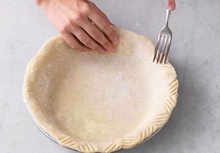 Nothing in the House Pie Crust