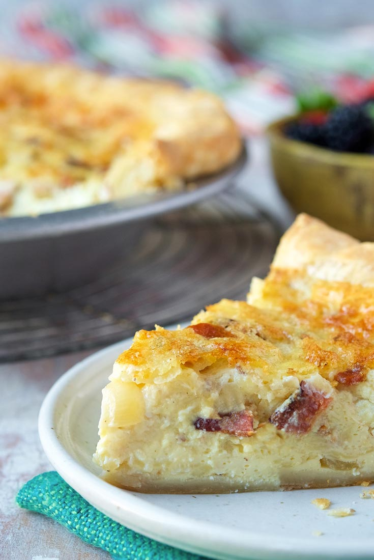 Bacon, Egg & Cheese Quiche Recipe
