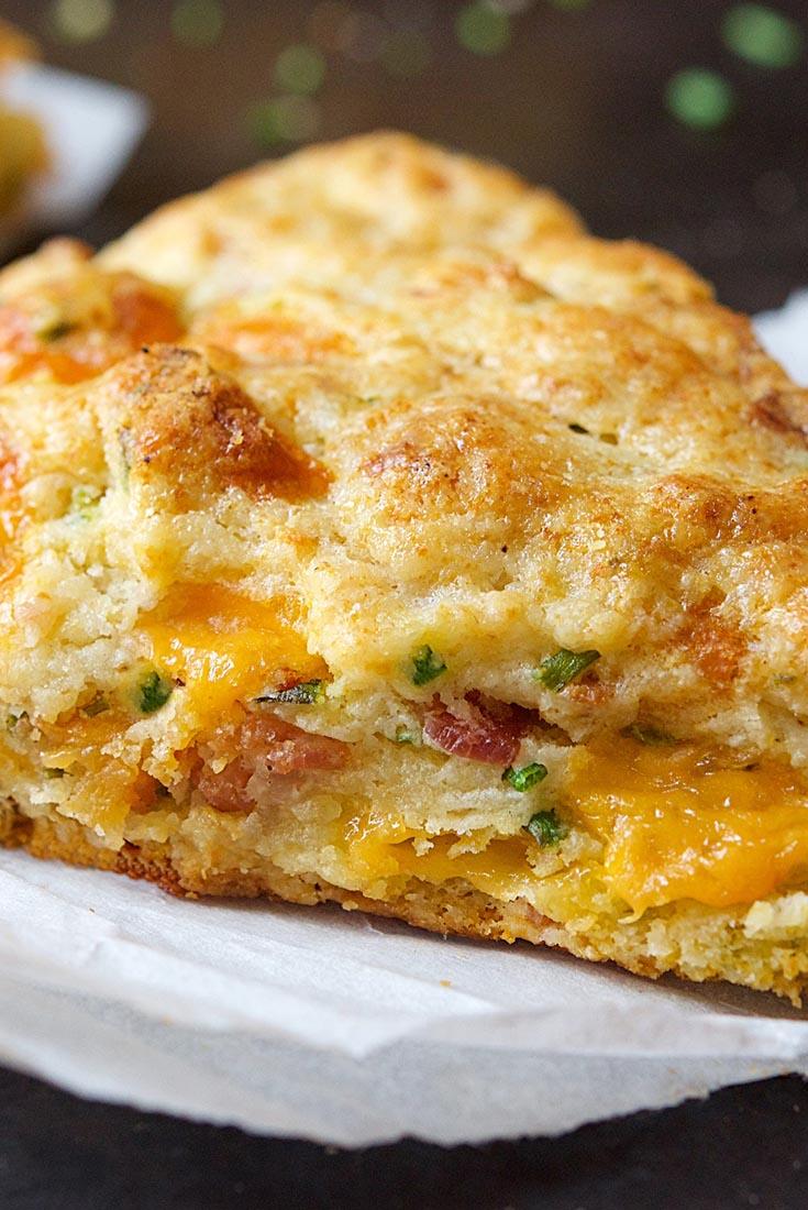 Bacon-Cheddar-Chive Scones Recipe