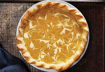 Delicata Squash Pie