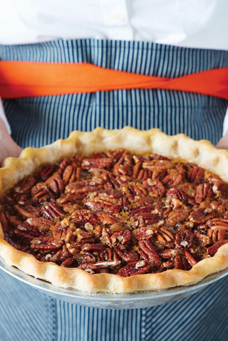 Bourbon Ginger Pecan Pie Recipe