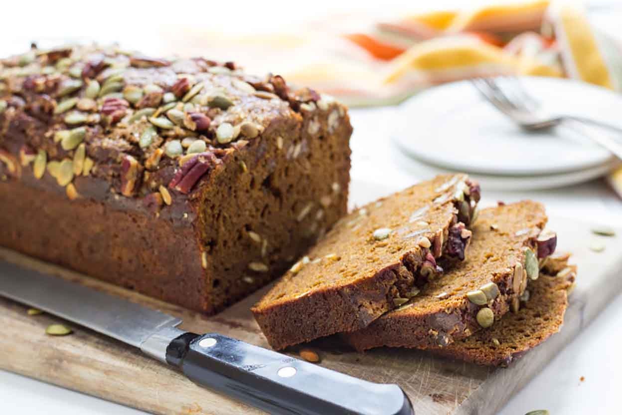 GlutenFree Pumpkin Bread Recipe King Arthur Flour
