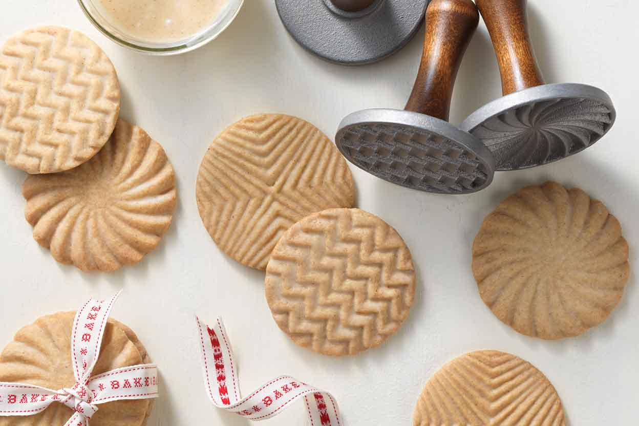 Brown Butter Stamp Cookies Recipe