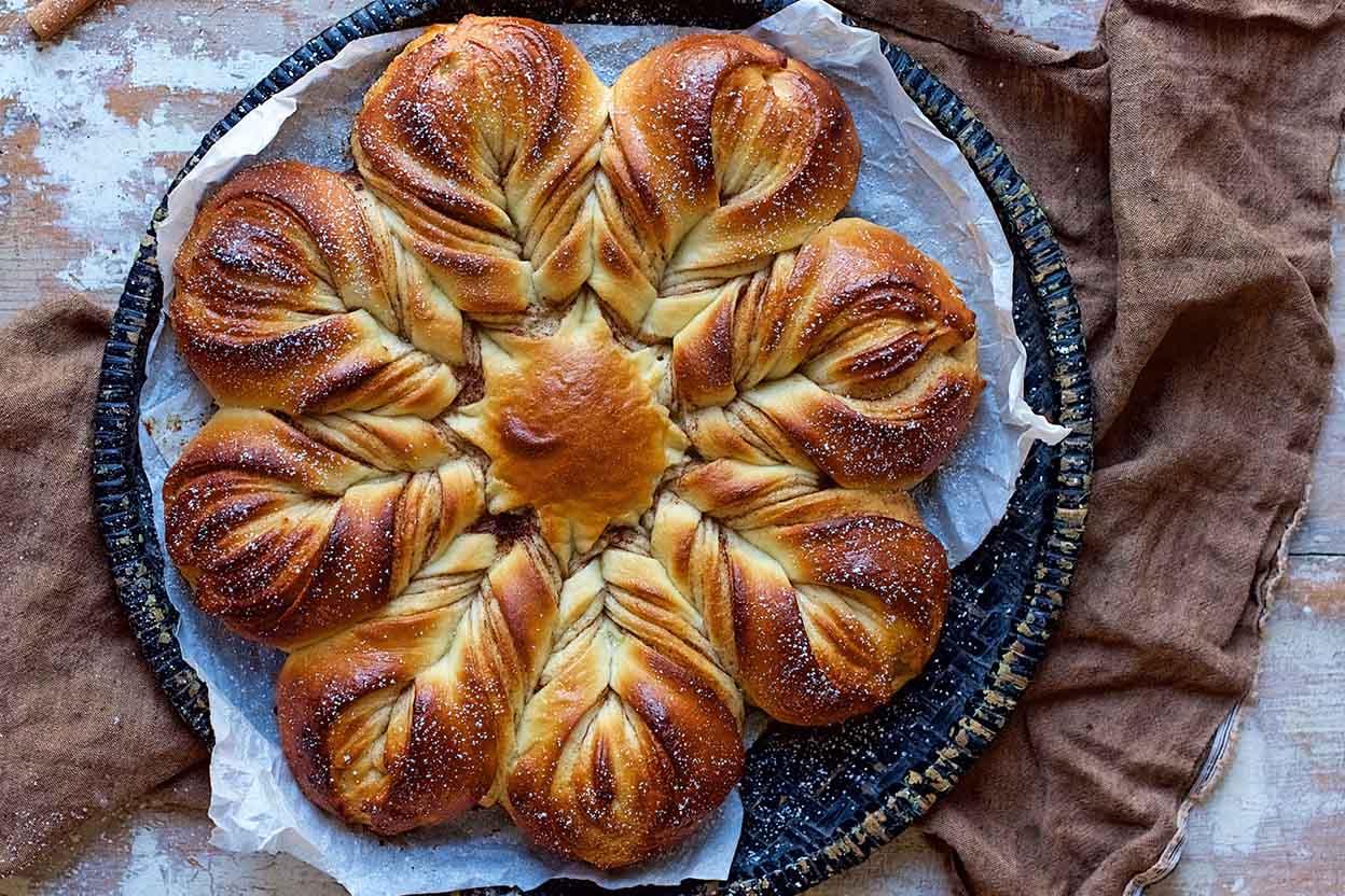 Cinnamon Star Bread Recipe King Arthur Flour